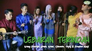 Lebaran Terindah Lyrics - Wany Hasrita, Ernie, Wani, Shamim , Tajul & Haqiem Rusli 1