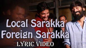 Local Sarakka Foreign Sarakka Song Lyrics - Padaiveeran 1