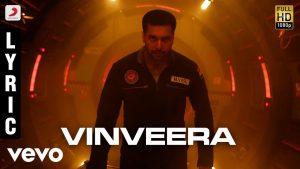 Vinveera Song Lyrics - Tik Tik Tik (2018) 1