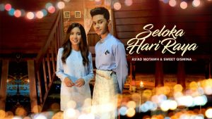 SELOKA HARI RAYA SONG LYRICS - As'ad Motawh & Sweetqismina 1