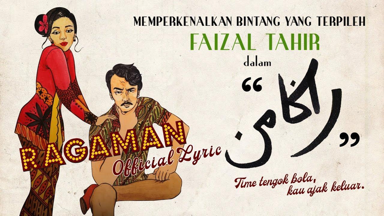Ragaman Song Lyrics - Faizal Tahir 1