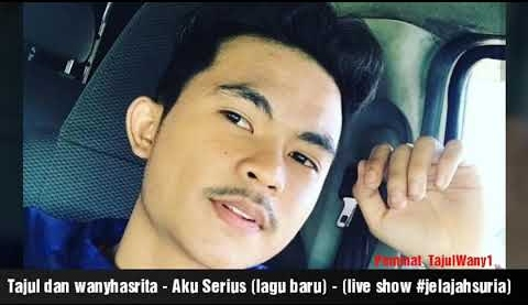 Aku Serius Song Lyrics - Tajul & Wany Hasrita 1