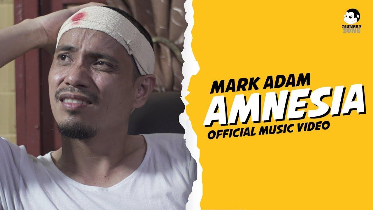 lirik lagu amnesia, mark adam