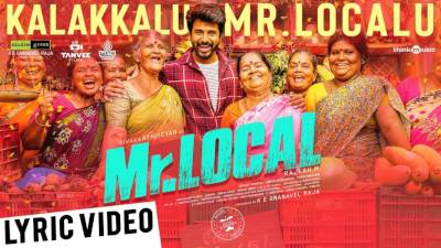Kalakkalu Mr. Localu Song Lyrics - Mr. Local