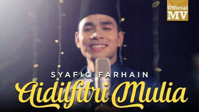 Lirik Lagu Aidilfitri Mulia - Syafiq Farhain
