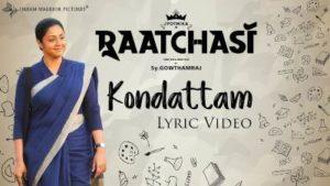 Kondattam Song Lyrics - Raatchasi