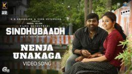 Nenja Unakaga Song Lyrics - Sindhubaadh