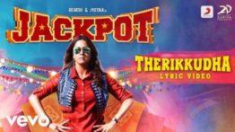 Therikkudha Song Lyrics - Jackpot