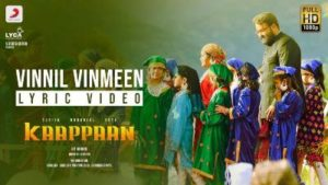 Vinnil Vinmeen Song Lyrics - Kaappaan