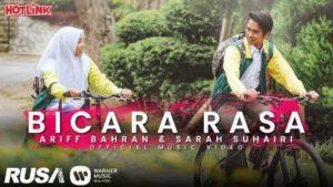 Lirik Lagu Bicara Rasa - Ariff Bahran & Sarah Suhairi