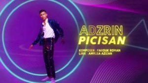 Lirik Lagu Picisan - Adzrin
