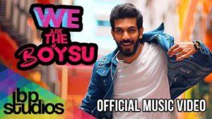 We Are Boysu Song Lyrics - Irfan Zaini