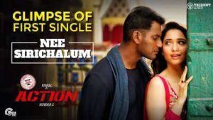 Nee Sirichalum Song Lyrics - Action