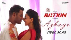 Azhage Song Lyrics - Action
