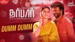 Dumm Dumm Song Lyrics - Darbar
