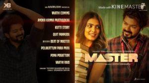 Andha Kanna Paathaakaa Song Lyrics - Master
