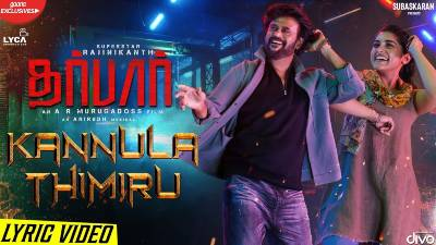 Kannula Thimiru Song Lyrics - Darbar