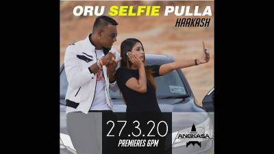 Oru Selfie Pulla Song Lyrics - Haakash