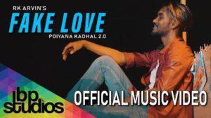 Fake Love Song Lyrics - RK Arvin