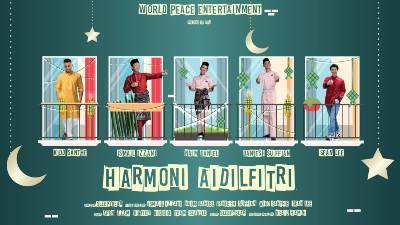 Lirik Lagu Harmoni Aidilfitri - Ismail Izzani, Naim Daniel, Daniesh Suffian, Kidd Santhe & Sean Lee