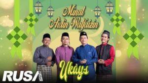 Lirik Lagu Minal Aidin Wafaizin - Ukays