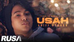 Lirik Lagu Usah - Ariff Bahran