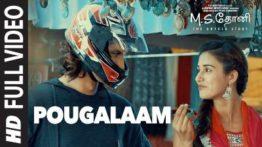 Pougalaam Song Lyrics - M.S. Dhoni