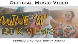 Wine Up Song Lyrics - FSPROD Vinu Feat Sophia Akkara