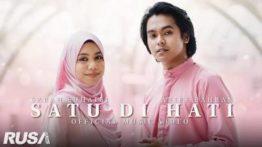 Lirik Lagu Satu Di Hati - Ariff Bahran & Sarah Suhairi