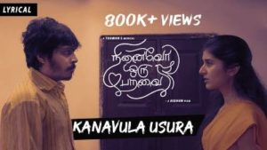Kanavula Usura Song Lyrics - Ninaivu Oru Paravai