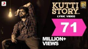 Kutti Story Song Lyrics Translation In English - Master