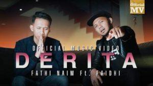 Lirik Lagu Derita - Fathi Naim Feat Faidhi