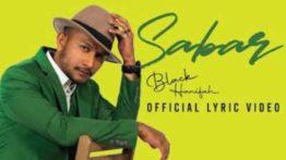 Lirik Lagu Sabar - Black Hanifah