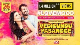 Love Mood Song Lyrics - Vedigundu Pasangge
