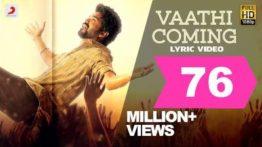 Vaathi Coming Song Lyrics In English Translation - Master