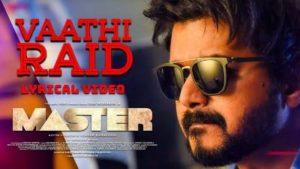 Vaathi Raid Song Lyrics English Meaning - Master