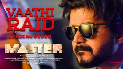 Vaathi Raid Song Lyrics English Meaning - Master