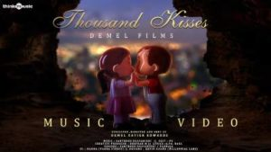 Thousand Kisses Song Lyrics - Santhosh Dhayanidhi & Demel Xavier