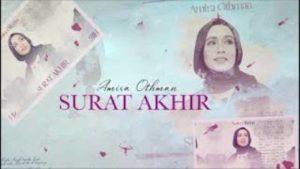 Lirik Lagu Surat Akhir - Amira Othman