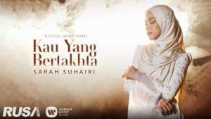 Lirik Lagu Kau Yang Bertakhta - Sarah Suhairi