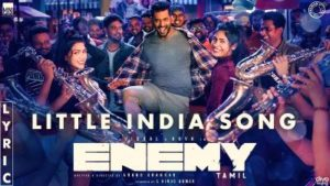 Little India Song Lyrics - Enemy (Tamil Movie)