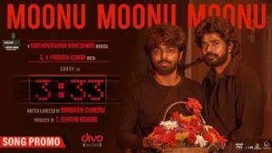 Moonu Moonu Moonu Song Lyrics - G.V. Prakash Kumar